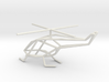 Helicopter scale 1-100 3d printed