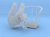 Ger 3,7 cm machine Cannon Flak seat assy 1/15 3d printed