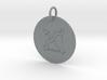 Sagittarius Keychain 3d printed
