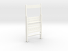 1:12 Chair wood folding.closed 3d printed