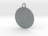 Libra Keychain 3d printed