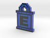 Mega Man E-Tank Keychain 3d printed