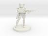 36MM Female Combat Armor 3d printed