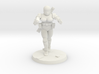 36mm Female Combat Armor 4 3d printed