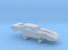 1/43 69 Daytona Pro Mod Smooth Door 3d printed