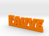 FAUVE Lucky 3d printed