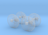 1/35 US Antennas SET for Patriot SAM Battery 3d printed