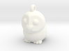 Barn Owl Pendant 3d printed