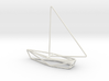 Sailing Boat Scale 1-100 3d printed