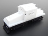CNSM Electric loco 452 3d printed Complete model with under frame and trucks.