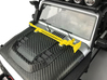 AJ10051 Jack and Hood Mount - YELLOW 3d printed Shown mounted to hood of Axial JK (sold separately)