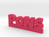 PONS Lucky 3d printed