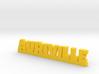 AURIVILLE Lucky 3d printed