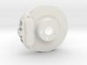 Ventilated Brake System 3d printed