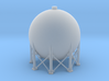 N Scale Spherical Tank 137m3 3d printed