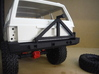 1:10 Scale Jeep Cherokee (XJ) Tire Carrier 3d printed