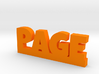 PAGE Lucky 3d printed