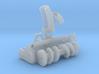 funktionstüchtige Schneefräse in 1:87 3d printed