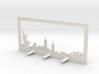 New York Skyline - Key Chain Holder With Border 3d printed