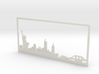 New York Skyline - 11 X 23 (XL) 3d printed