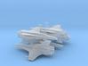 Viper Mk VII Wing (Battlestar Galactica), 1/350 3d printed