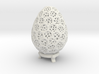 Double Voronoi Easter Egg 3d printed