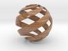 Loxodrome 3d printed Wood-Texture Coasted Sandstone