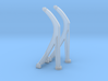1/125 Davits for 26-foot Motor Whaleboat 3d printed
