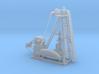1/87th Large Oil Pump Jack & Wellhead 3d printed