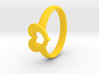 Ring of Love 3d printed