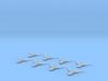 1/2256 Scale Troop Trasnport Ship Flight Mode 3d printed
