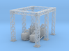 Power Station Sect A N Scale 3d printed Part A sub Station N scale