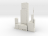 Zifeng Tower (1:2000) 3d printed