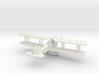 Albatros J.II 3d printed 1:144 Albatros J.II in WSF