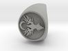 ZEAL Signet Size 9 3d printed