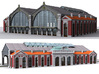 NGG-BVAg01a - Large Railway Station 3d printed