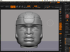 Olmec Head  3d printed 3d screen 1