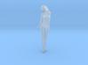 Long ponytail girl 008 1/35 3d printed