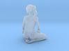 Long ponytail girl 056 1/35 3d printed