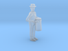 HO Scale DairyMan Lugging Milk Can Figure 3d printed
