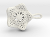 Little déco earring-pending 3d printed