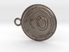 Swan Medallion 3d printed