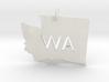 Washington State Pendant 3d printed