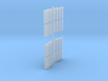 Walthers NJT/SEPTA/M-N Comet II replacement steps 3d printed