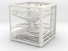 """The Cube"" marble run 3d printed"