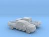 1/160 2X 2015 Chevrolet Silverado 3d printed