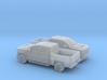 1/160 2X 2016 Chevrolet Silverado 3d printed