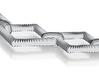 Diamondlinkpendant 3d printed