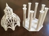 Gothic Chapel 2 Upper 3d printed Chapel top and bottom next to each other