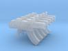 Space Ravens Mk87 Thunderbolt Pistols (silenced) 3d printed